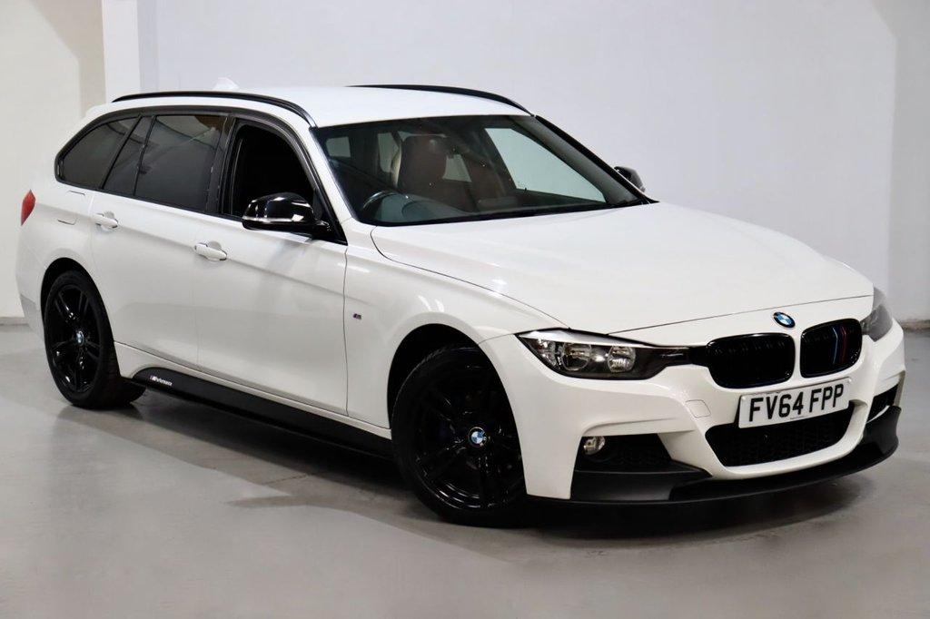 USED 2014 64 BMW 3 SERIES 2.0 320D XDRIVE M SPORT TOURING 5d 181 BHP