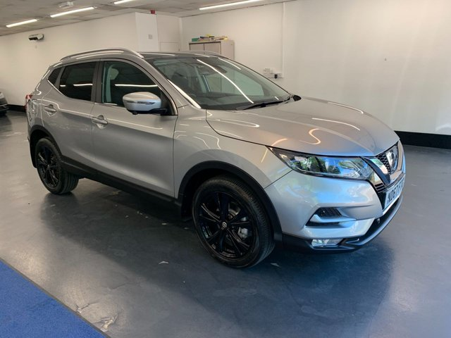 USED 2018 67 NISSAN QASHQAI 1.2 N-CONNECTA DIG-T XTRONIC 5d 113 BHP 1 OWNER FROM NEW, FULL NISSAN SERVICE HISTORY, LOADED WITH TOYS AND TECH INC 360 CAMERA, PARKING SENSORS, PAN ROOF, BLUETOOTH AUDI AND MUSIC