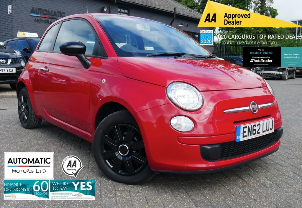 USED 2013 62 FIAT 500 1.2 COLOUR THERAPY 3d 69 BHP 2013 FIAT 500 1.2 COLOUR THERAPY 3d 69 BHP 2 KEYS ULEZ FREE FINANCE ME