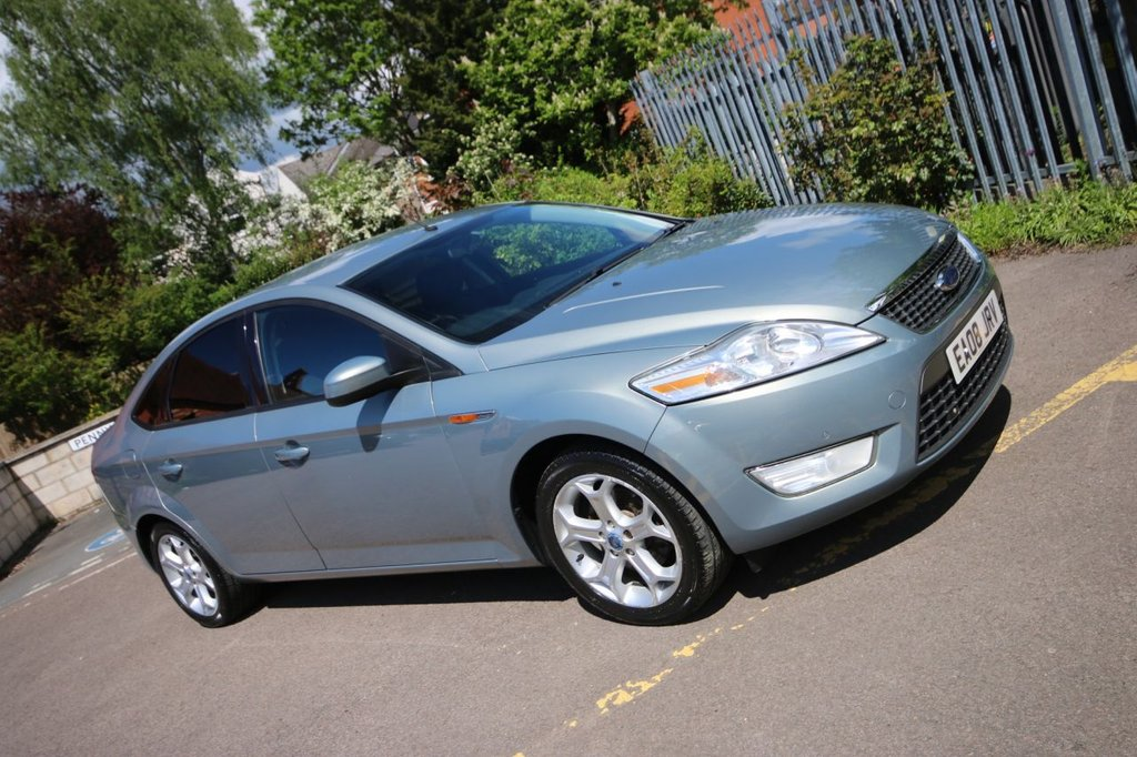 USED 2008 08 FORD MONDEO 2.0 ZETEC 145 5d 144 BHP + SUPER CONDITION 4 KEEPERS + NICE CONDITION + VALUE FAMILY HATCH