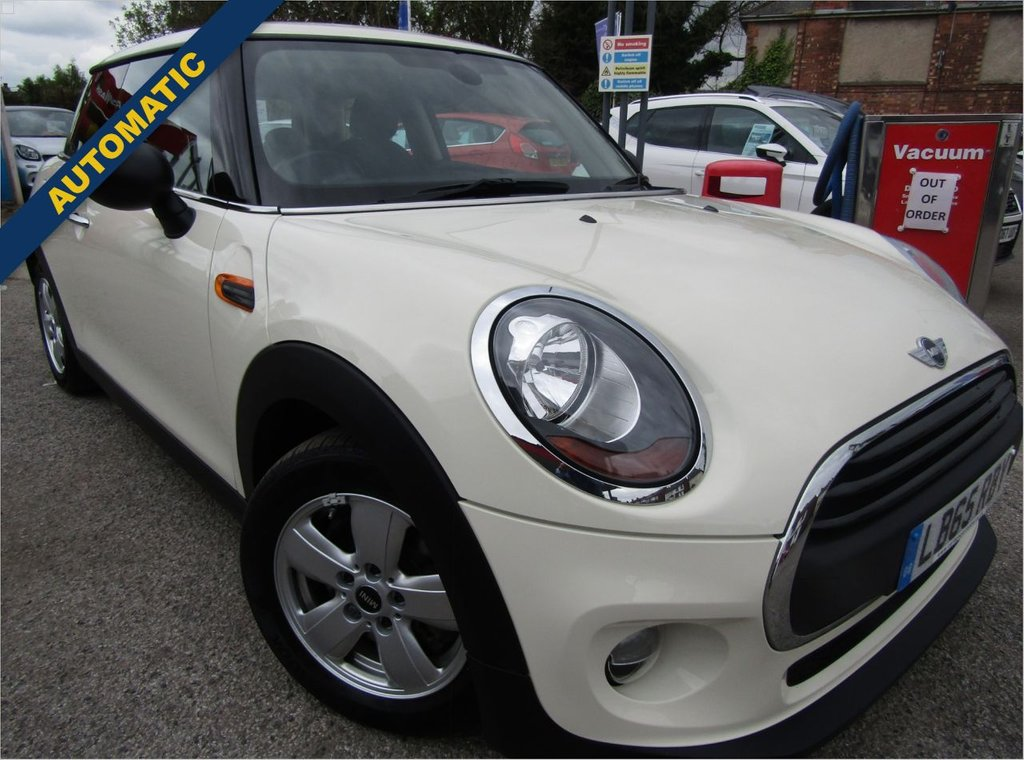 USED 2016 65 MINI HATCH ONE 1.2 ONE 3d 101 BHP  AUTOMATIC ** Low mileage Mini Cooper Auto ** full service history ** Two keys ** Stylish &fun to drive ** low rate PCP available ** Buy locally value checked ** Parts &labour warranty included ** £15 per month service plan **