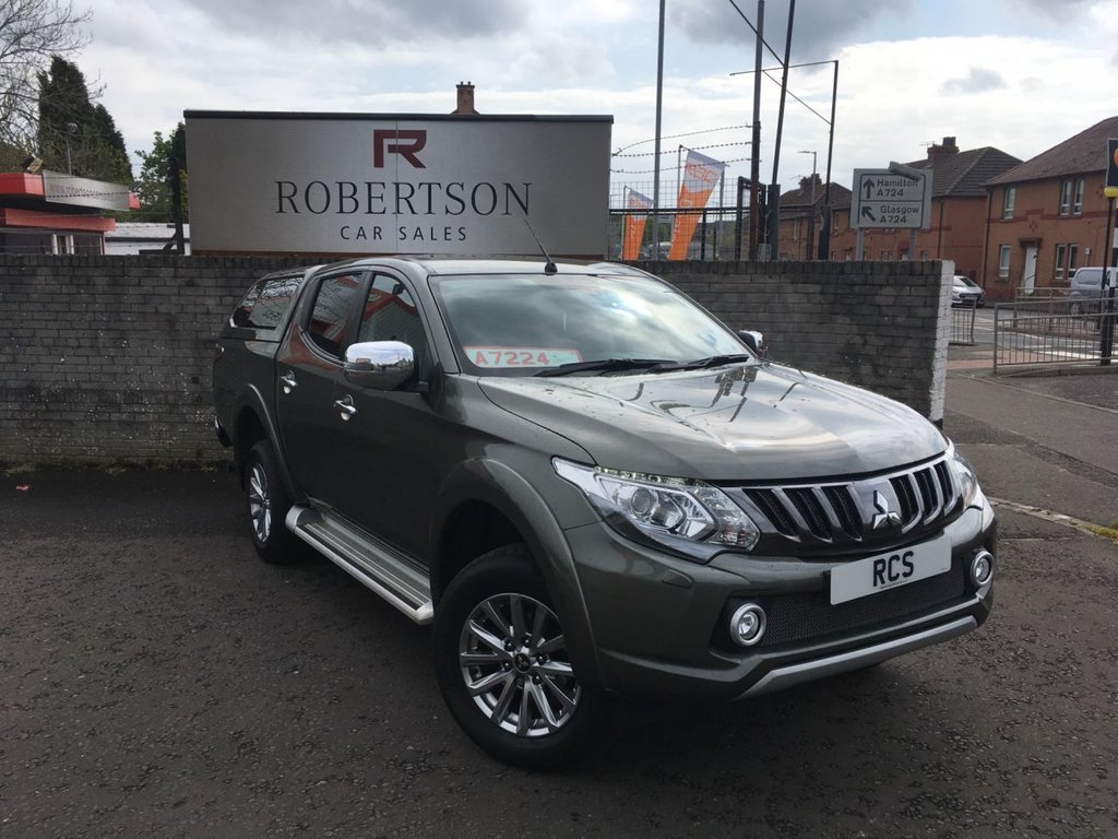 USED 2018 S MITSUBISHI L200 2.4 DI-D 4WD BARBARIAN DCB  HIGH SPEC INCLUDING CANOPY AND LINER