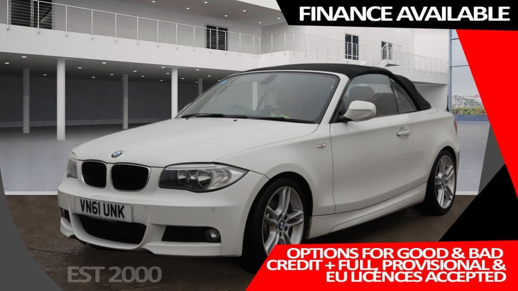 USED 2012 61 BMW 1 SERIES 2.0 123D M SPORT 2d 202 BHP * CLIMATE *  LEATHER TRIM * MOT FEB 22 * 2 KEYS * 38K MILES ONLY *