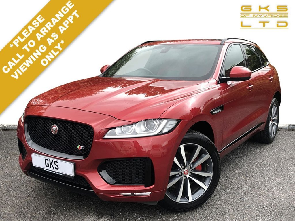 USED 2016 16 JAGUAR F-PACE 3.0 V6 S AWD 5d 296 BHP ** OVER £6,000 OF FACOTRY EXTRAS **