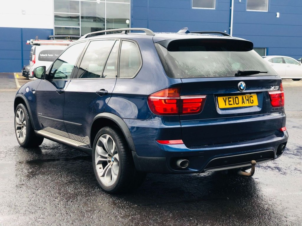 USED 2010 10 BMW X5 3.0 XDRIVE40D SE AUTOMATIC 80K MILES FSH 8 STAMPS 1 PRE OWNER FSH 1 PRE OWNER 80K MILES 1 YEAR MOT SAME OWNER 11 YEARS