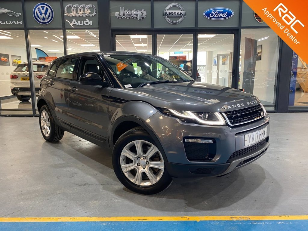 USED 2017 17 LAND ROVER RANGE ROVER EVOQUE 2.0 TD4 SE TECH 5d 177 BHP Complementary 12 Months RAC Warranty and 12 Months RAC Breakdown Cover Also Receive a Full MOT With All Advisory Work Completed, Fresh Engine Service and RAC Multipoint Check Before Collection/Delivery
