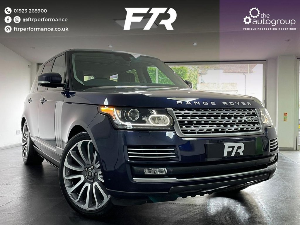 USED 2014 64 LAND ROVER RANGE ROVER 3.0 TDV6 AUTOBIOGRAPHY 5d 258 BHP