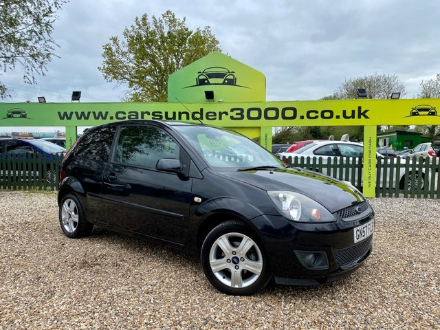USED 2008 57 FORD FIESTA 1.4 ZETEC CLIMATE 16V 3d 78 BHP