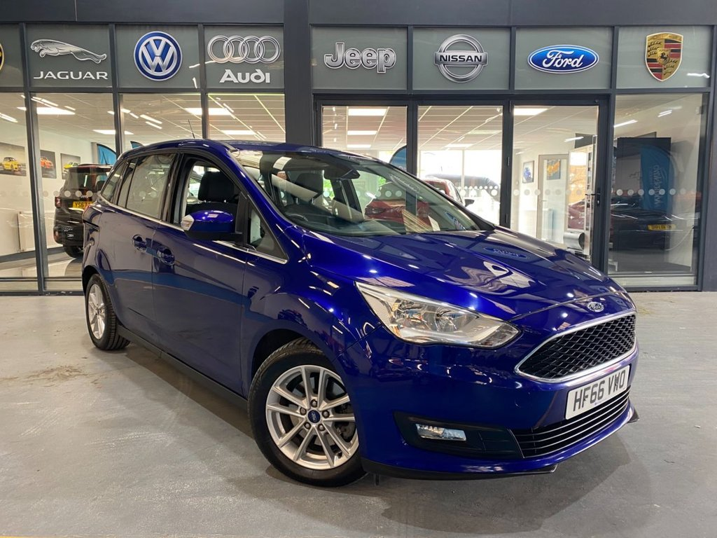 USED 2016 66 FORD GRAND C-MAX 1.5 ZETEC TDCI 5d 118 BHP Complementary 12 Months RAC Warranty and 12 Months RAC Breakdown Cover Also Receive a Full MOT With All Advisory Work Completed, Fresh Engine Service and RAC Multipoint Check Before Collection/Delivery