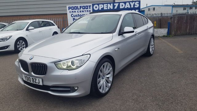 USED 2010 10 BMW 5 SERIES 3.0 530D SE GRAN TURISMO 5d 242 BHP LEATHER*NAV*CRUISE*PAN ROOF*PARKING SENSORS WITH CAMERA