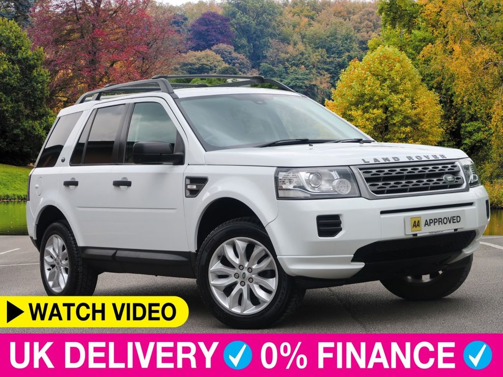 USED 2013 13 LAND ROVER FREELANDER 2.2 TD4 GS 4WD 5dr Full Leather Cruise 8 Services £4000 of Factory Fitted Extras