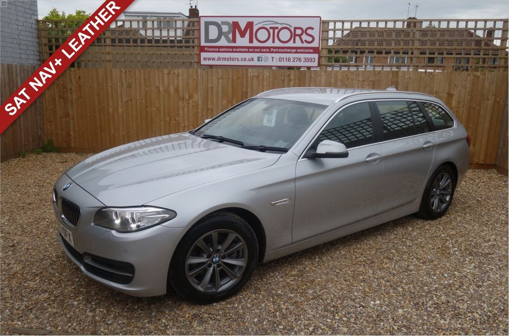 USED 2013 63 BMW 5 SERIES 2.0 520D SE TOURING 5d 181 BHP *** 6 MONTHS NATIONWIDE GOLD WARRANTY ***