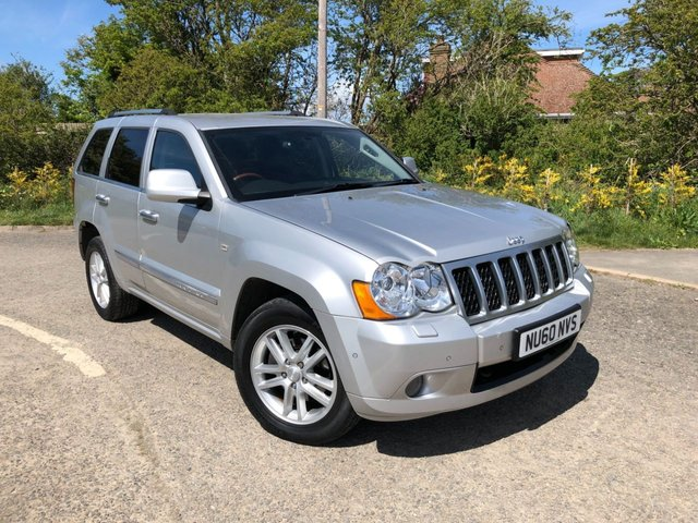 USED 2010 60 JEEP GRAND CHEROKEE 3.0 OVERLAND CRD V6 5d 215 BHP *SUPERB, LUXURY INTERIOR AND GREAT REAR PASSENGER SPACE*