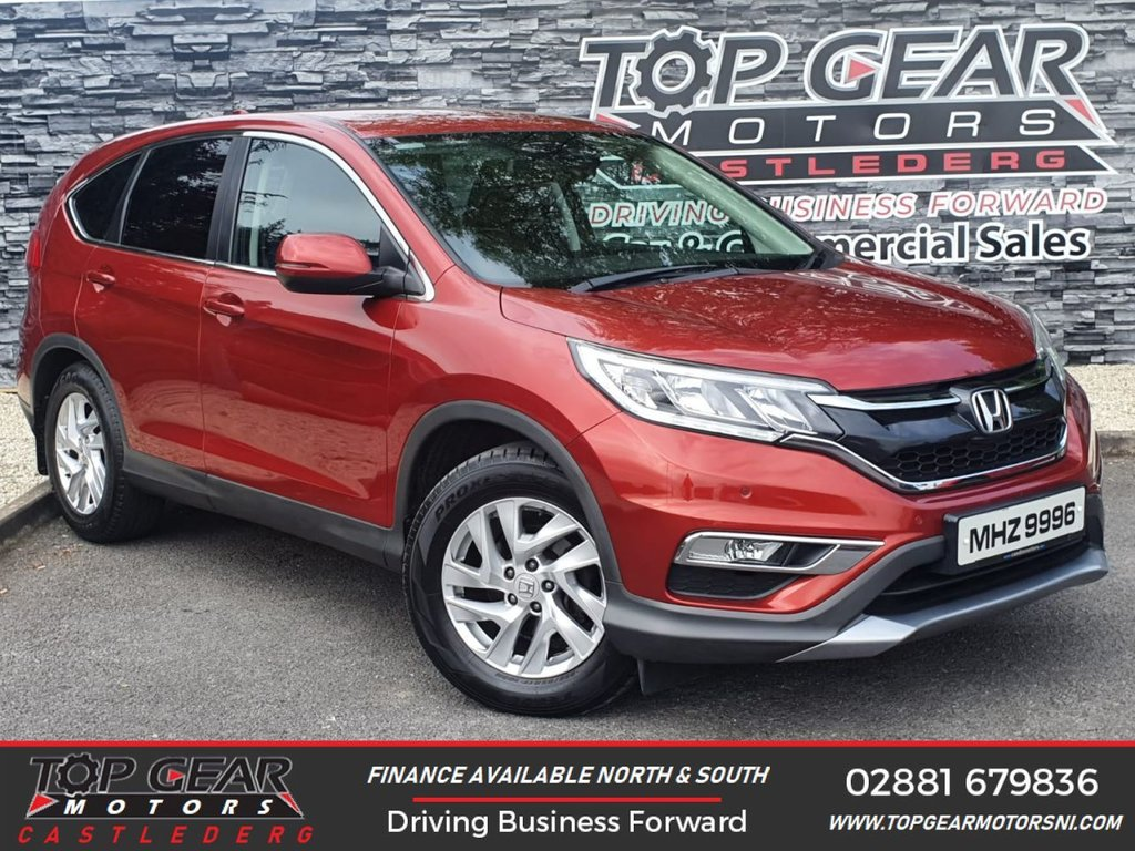 USED 2016 HONDA CR-V 1.6 120BHP I-DTEC SE  ** AIR CON, CRUISE CONTROL, PRIVACY GLASS & MORE ** OVER 100 VEHICLES IN STOCK