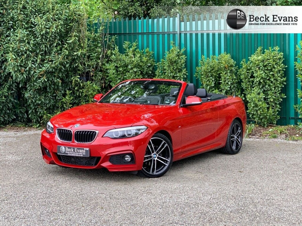 USED 2018 68 BMW 2 SERIES 2.0 218D M SPORT 2d 148 BHP FULL LEATHER  FULL LEATHER