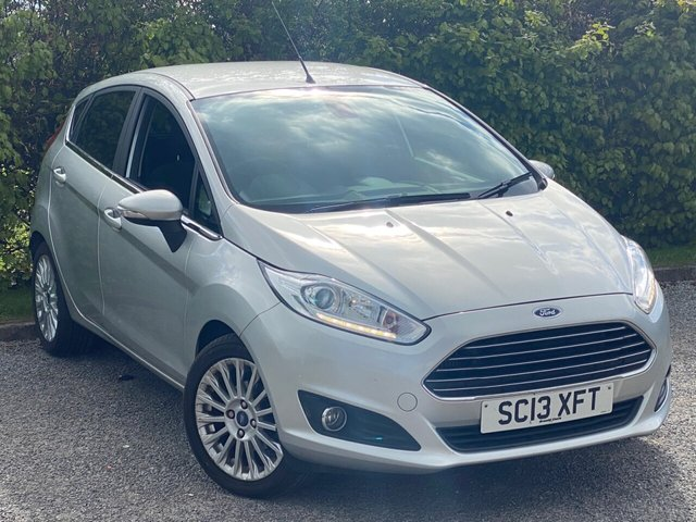 USED 2013 13 FORD FIESTA 1.0 TITANIUM 5d LOW MILEAGE, MAIN DEALER SERVICE HISTORY, 12 MONTHS MOT, BLUETOOTH, CRUISE CONTROL