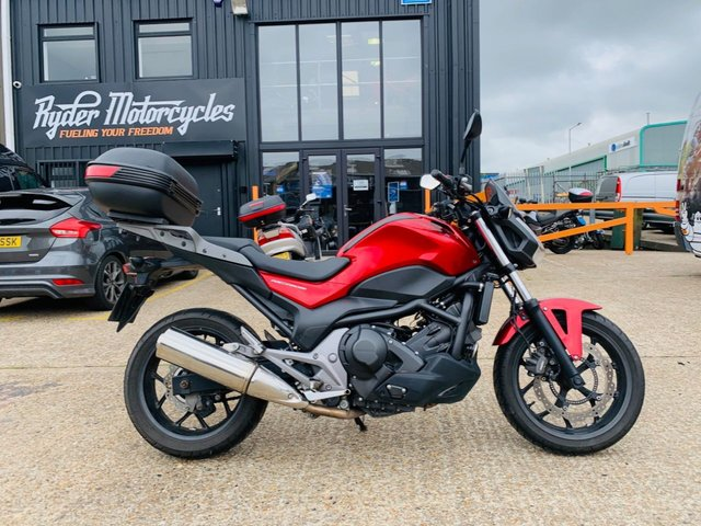 2014 14 HONDA NC750 S, DCT AUTOMATIC GEARBOX