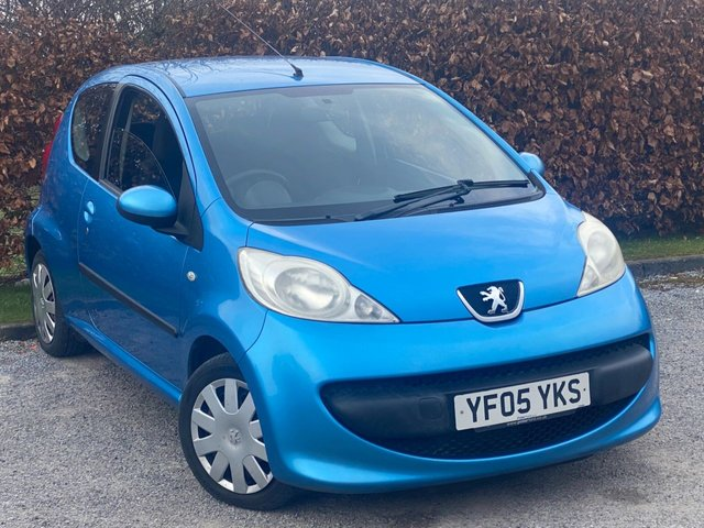 USED 2005 05 PEUGEOT 107 1.0 URBAN 3d 68 BHP VALUE FOR MONEY CITY CAR