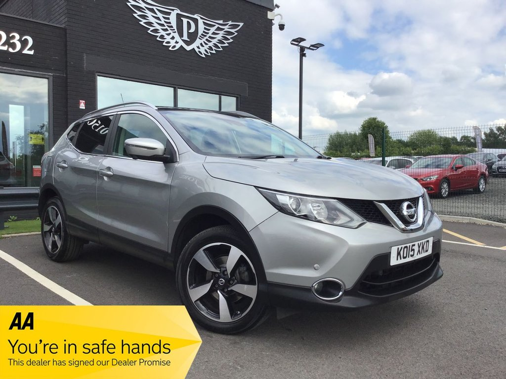 USED 2015 15 NISSAN QASHQAI 1.6 DCI N-TEC PLUS 5d 128 BHP NATIONWIDE DELIVERY AVAILABLE