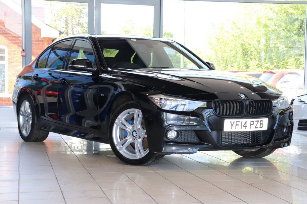 USED 2014 14 BMW 3 SERIES 2.0 320D XDRIVE M SPORT 4d 181 BHP Satnav + Cruise + Parking Aid + Dab