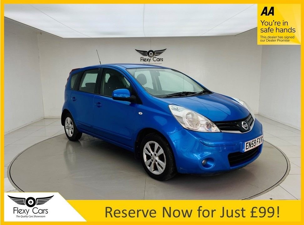 USED 2010 59 NISSAN NOTE 1.6 ACENTA 5d 110 BHP