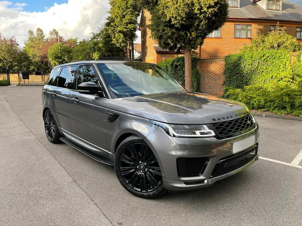 USED 2018 18 LAND ROVER RANGE ROVER SPORT 3.0 SDV6 AUTOBIOGRAPHY 7 SEATS 5d 306 BHP 7 SEATS, REAR TV DVDs, TOWBAR, OPEN SUNROOF, FINANCE