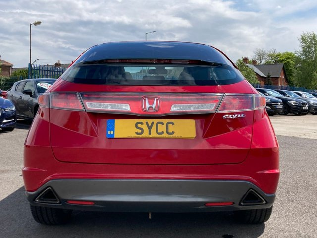 USED 2009 59 HONDA CIVIC 1.8 I-VTEC ES 5d 138 BHP BIG SPECIFICATION!! , PANORAMIC ROOF, SERVICE HISTORY, CRUISE CONTROL, MATCHING CONTINENTAL TYRES,
