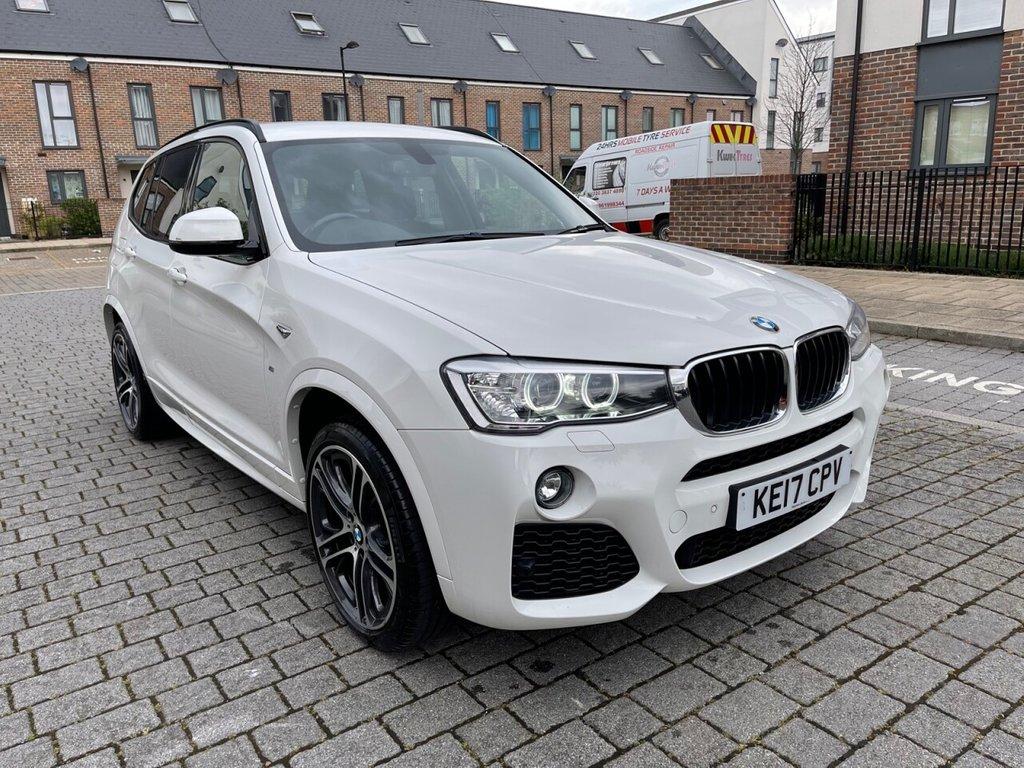 USED 2017 17 BMW X3 2.0L XDRIVE20D M SPORT 5d AUTO 188 BHP WIDE NAV, HK Sound, BMWSH, 6M WARRANTY, NEW MOT,FINANCE