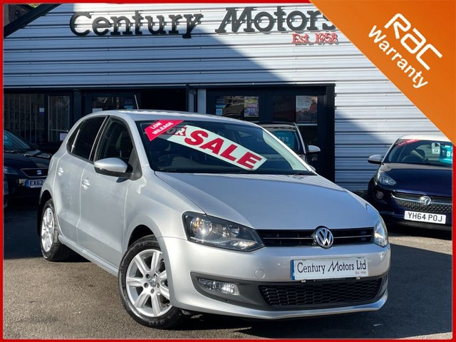 2014 14 VOLKSWAGEN POLO 1.2 Match Edition 5dr - BLUETOOTH