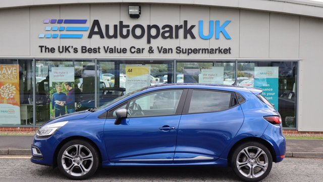 USED 2019 69 RENAULT CLIO 0.9 GT LINE TCE 5d 89 BHP LOW DEPOSIT OR NO DEPOSIT FINANCE AVAILABLE . COMES USABILITY INSPECTED WITH 30 DAYS USABILITY WARRANTY + LOW COST 12 MONTHS ESSENTIALS WARRANTY AVAILABLE FROM ONLY £199 (VANS AND 4X4 £299) DETAILS ON REQUEST. ALWAYS DRIVING DOWN PRICES . BUY WITH CONFIDENCE . OVER 1000 GENUINE GREAT REVIEWS OVER ALL PLATFORMS FROM GOOD HONEST CUSTOMERS YOU CAN TRUST .