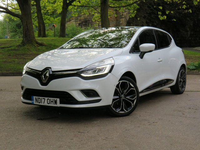 USED 2017 17 RENAULT CLIO 1.2 DYNAMIQUE S NAV TCE 5d 117 BHP