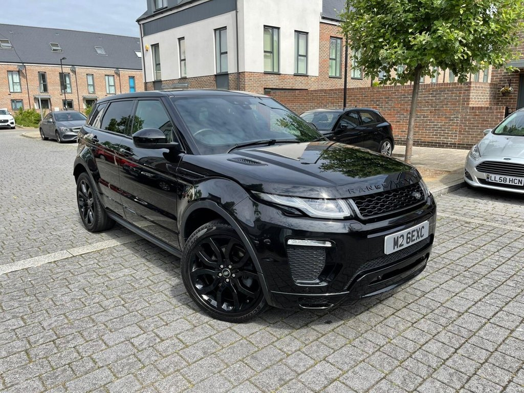 USED 2016 16 LAND ROVER RANGE ROVER EVOQUE 2.0L SI4 HSE DYNAMIC 5d AUTO 237 BHP PANROOF, MERIDIAN SOUND, CAMERA, 6M WARRANTY, NEW MOT, FINANCE