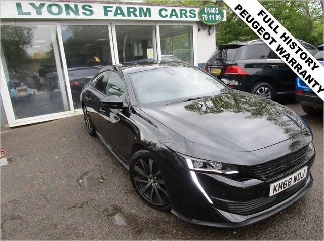 USED 2018 68 PEUGEOT 508 1.5 BLUEHDI S/S ALLURE 5d 129 BHP Full Service History + Just Serviced, One Previous Owner, NEW MOT, Great fuel economy! Balance of Peugeot Manufacturer Warranty until November 2021