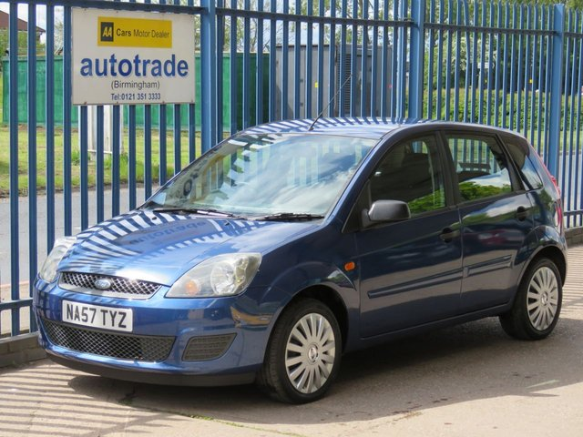 USED 2007 57 FORD FIESTA 1.2 STYLE CLIMATE 16V 5d 78 BHP. AIR CONDITIONING-QUICKCLEAR HEATED FRONT WINDSCREEN-SERVICE HISTORY  Air Con & Heated Front Screen-Service History with 10 Stamps-C/D