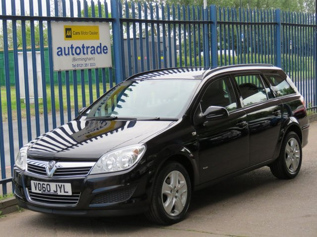 USED 2010 60 VAUXHALL ASTRA 1.7 CLUB CDTI 5d 110 BHP. ESTATE-AIR CONDITIONING-SERVICE HISTORY WITH 6 STAMSPS INC CAMBELT AT 68K AIR CON-ALLOYS-C/D RADIO-ABS-AIR CON-ALLOYS-SERVICE HISTORY-ABS