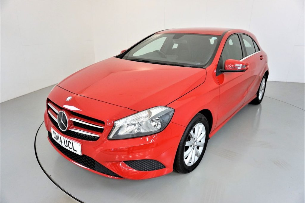 USED 2014 14 MERCEDES-BENZ A-CLASS 1.6 A180 BLUEEFFICIENCY SE 5d-HALF LEATHER ALLOY WHEELS-AIR CONDITIONING