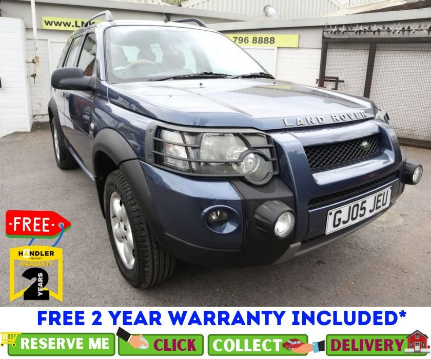 USED 2005 05 LAND ROVER FREELANDER 2.0 TD4 SE STATION WAGON 5d AUTO 110 BHP *CLICK AND COLLECT OR DELIVERY