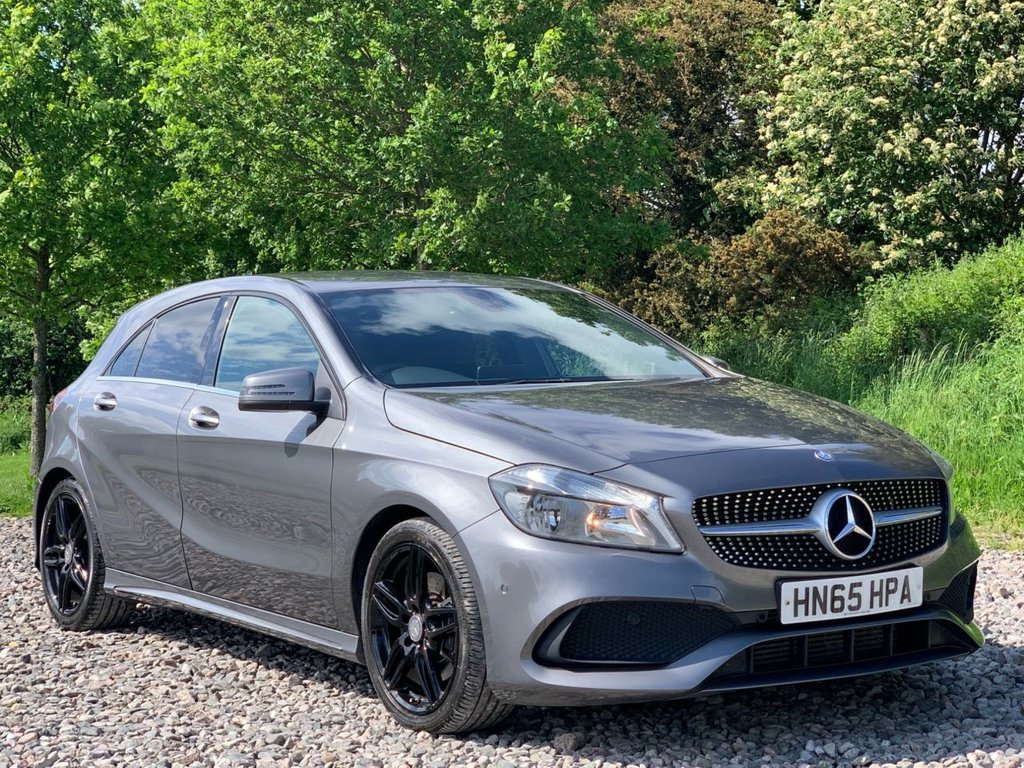 USED 2016 65 MERCEDES-BENZ A-CLASS 2.1 A 220 D AMG LINE EXECUTIVE 5d 174 BHP Free Next Day Nationwide Delivery