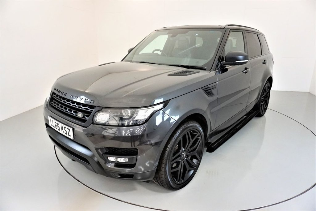 USED 2016 66 LAND ROVER RANGE ROVER SPORT 3.0 SDV6 HSE DYNAMIC 5d AUTO-2 OWNER CAR-SLIDING PANORAMIC ROOF-22