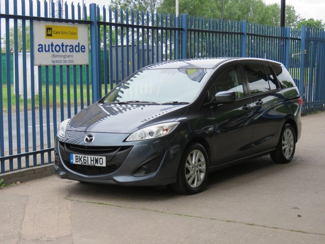 USED 2011 61 MAZDA MAZDA 5 1.6 TS2 D 115PS 5dr 113 7 Seater-Air con-Cruise-Privacy glass-Alloys Finance arranged Part exchange available Open 7 days