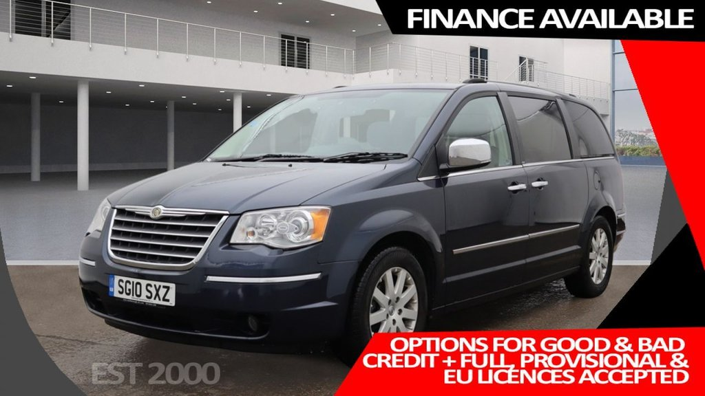 USED 2010 10 CHRYSLER GRAND VOYAGER 2.8 CRD LIMITED 5d 161 BHP * 7 SEATS * PRIVACY GLASS * MOT MAY 2022 * 2 KEYS * 46,669 MILES ONLY * CLIMATE CONTROL *