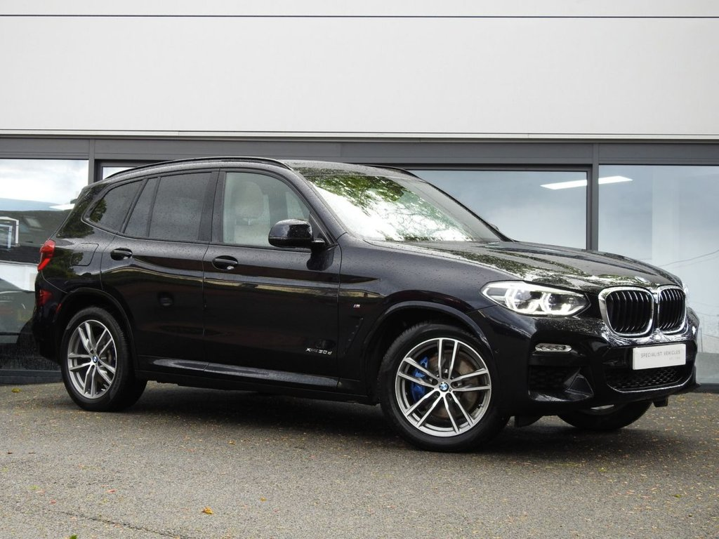 USED 2018 18 BMW X3 3.0 XDRIVE30D M SPORT 5d 261 BHP This Beautiful XDrive30D Comes with a Stunning Specification Throughout & a Lovely BMW Service History...