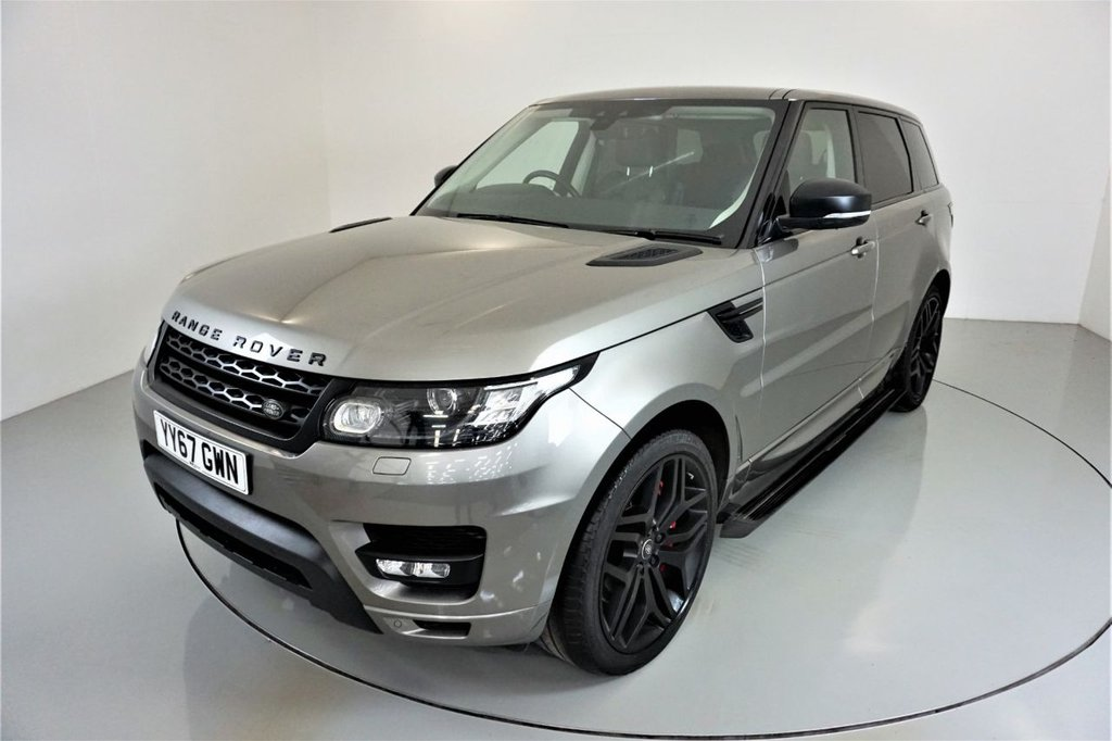USED 2017 67 LAND ROVER RANGE ROVER SPORT 3.0 SDV6 HSE DYNAMIC 5d AUTO-STEALTH PACKAGE-SIDE STEPS-22