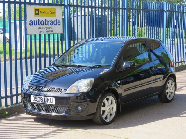 USED 2008 08 FORD FIESTA 1.2 ZETEC BLUE 3d 75 BHP Alloys,Service History, SonyCD, Heated Front Screen, Bluetooth, AC