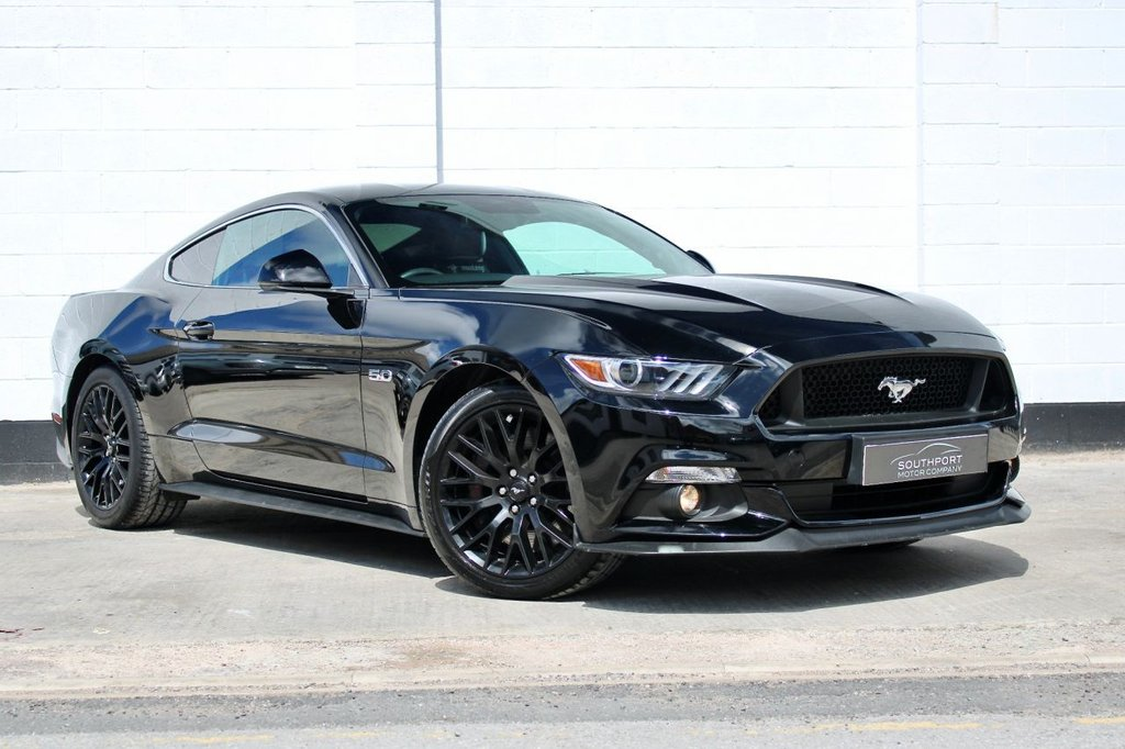 USED 2018 15 FORD MUSTANG 5.0 GT 2d 410 BHP