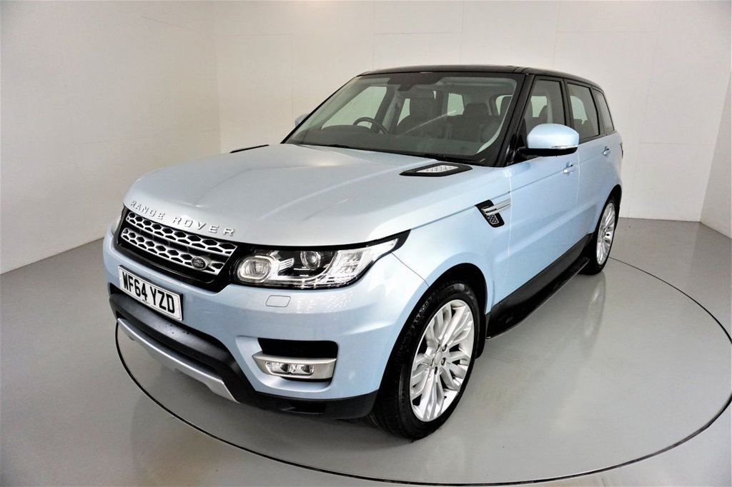 USED 2014 64 LAND ROVER RANGE ROVER SPORT 3.0 SDV6 HSE 5d AUTO-2 OWNER CAR-21
