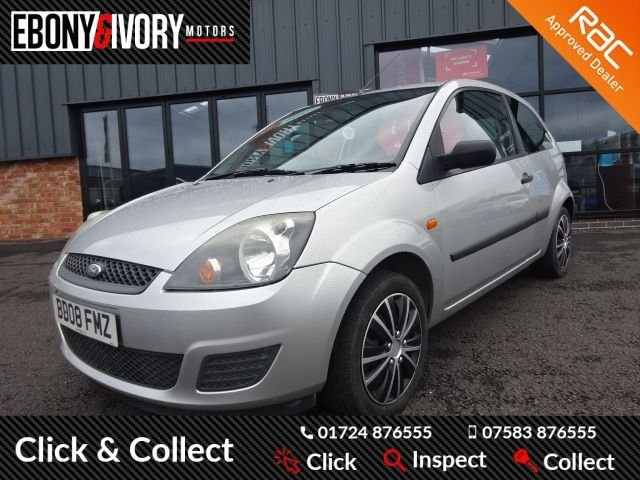 USED 2008 08 FORD FIESTA 1.4 STYLE TDCI 3d 68 BHP + FULL SERVICE HISTORY + 1 YEAR MOT AND BREAKDOWN COVER