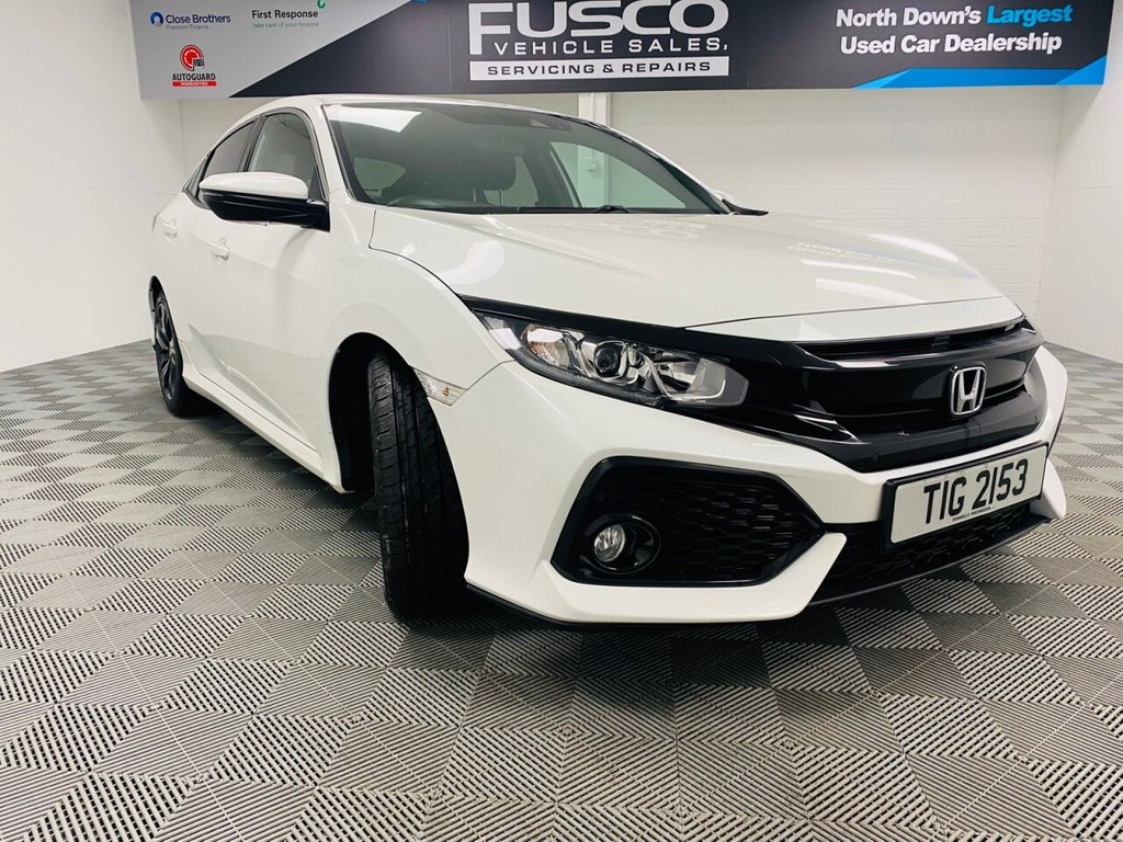 USED 2017 HONDA CIVIC 1.0 VTEC SR 5d 128 BHP NATIONWIDE DELIVERY AVAILABLE!