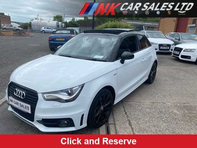 2015 64 AUDI A1 1.6 TDI S LINE STYLE EDITION 3d 103 BHP A RARE OPENING PAN ROOF MODEL SOLD TO MISS HANNAH FROM LINCOLN