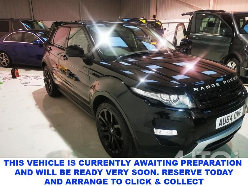 USED 2014 64 LAND ROVER RANGE ROVER EVOQUE 2.2 SD4 DYNAMIC LUX 5d 190 BHP Spec Imcluding Ambient Lighting Bluetooth Adaptive Cruise Control DAB Front & Rear Parking Aid Full Park Assist Proximity Mirror Camera Surround Camera System Powered Tailgate Rear Spoiler Terrain Response Voice Activated Controls Sport Edition Stop/Start System Keyless Entry Fixed Panoramic Roof